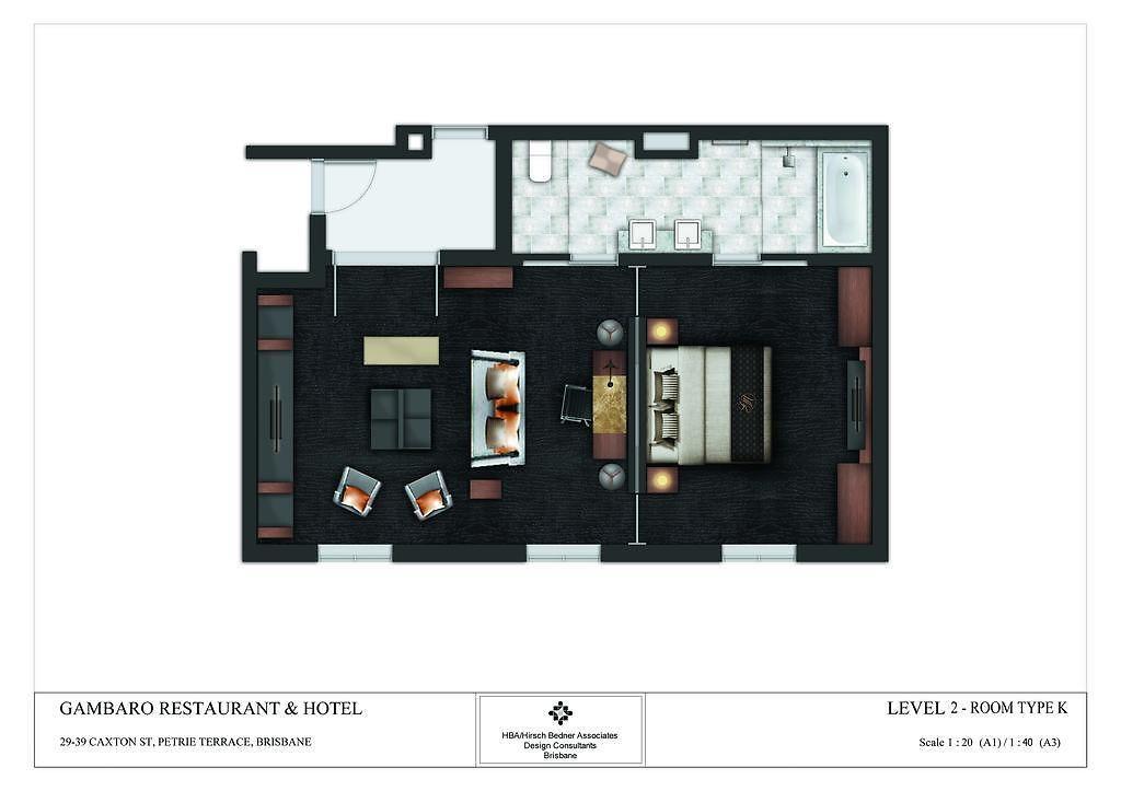 GAMBARO HOTEL, BRISBANE *****